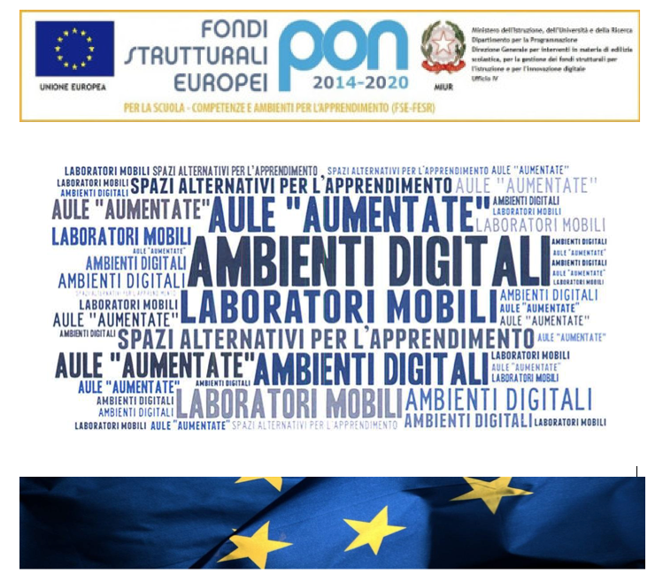 Logo Pon Ambienti digitali