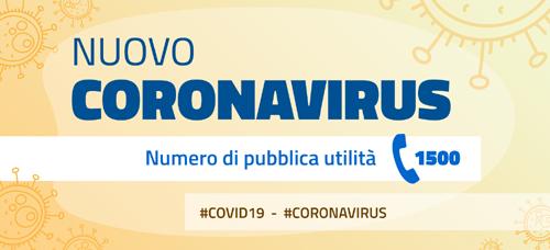 locandina nuovo coronavirus