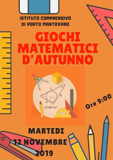 locandina giochi matematici 2019