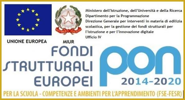 logo fondi strutturali europei-programma operativo nazionale